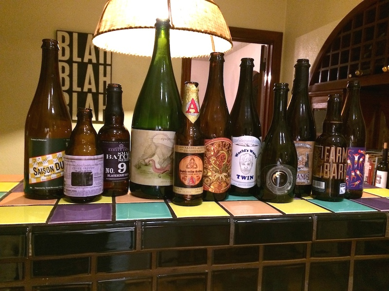 Captain Keith Bottle Share Jester King Equipoise Avery Barrel-Aged Prarie Artisan Ales Cherry Funk Ranger Creet Saison Dupont