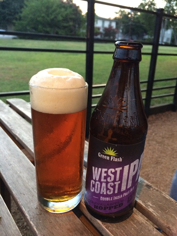 Captain Keith Flying Saucer IPA Day Green Flash West Coast