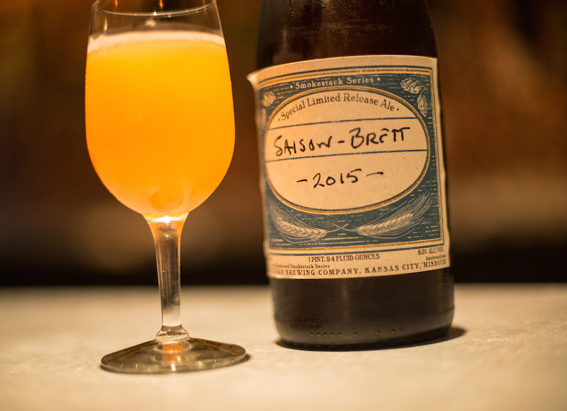 Boulevard Brewing Co Saison Brett Flying Saucer Kansas City