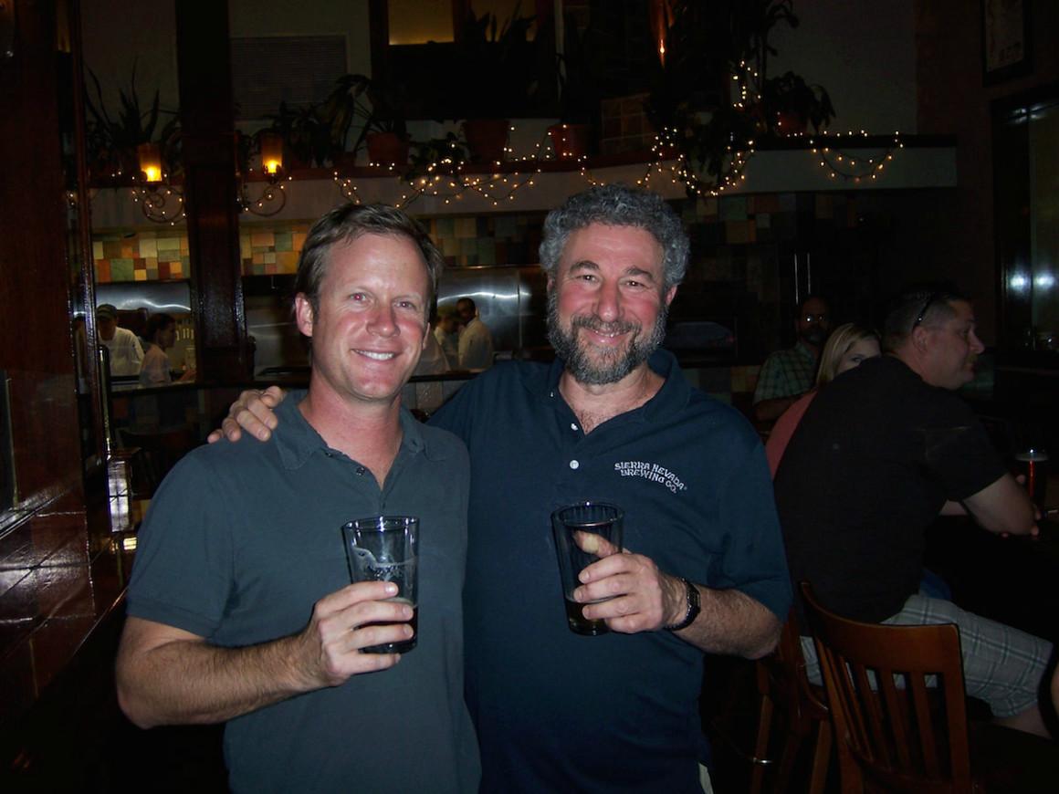 Captain Keith and Ken Grossman