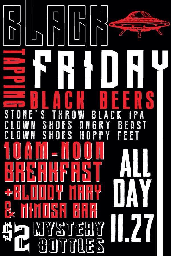 Little Rock Flying Saucer Black Friday