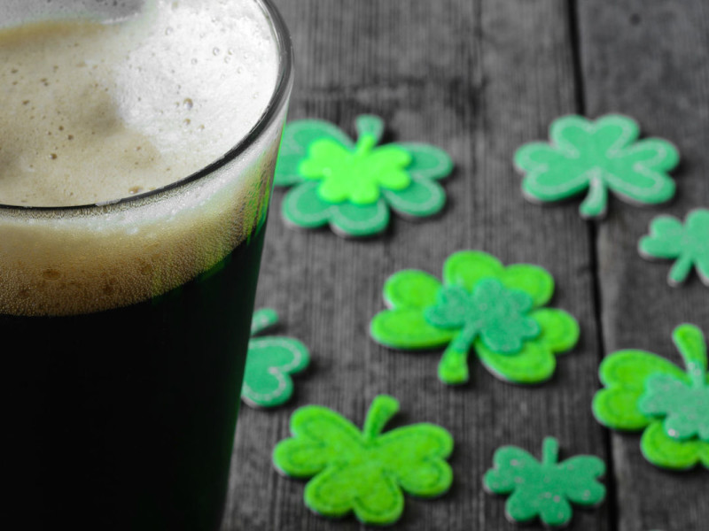 craft beer St. Patrick's Day