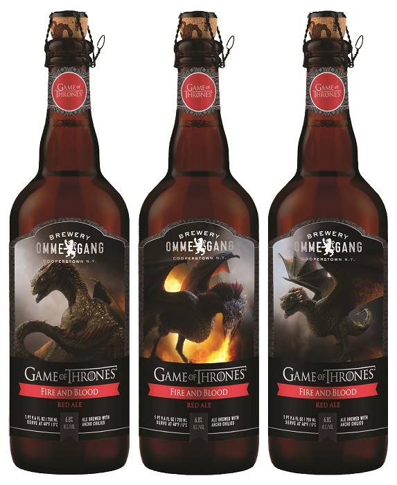 Game of Thrones Ommegang Fire and Blood