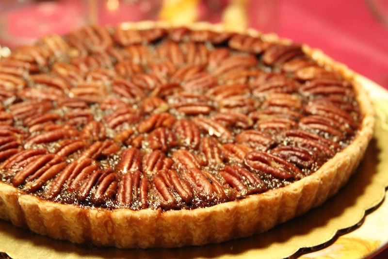 Beer pairings dessert pecan pie Flying Saucer