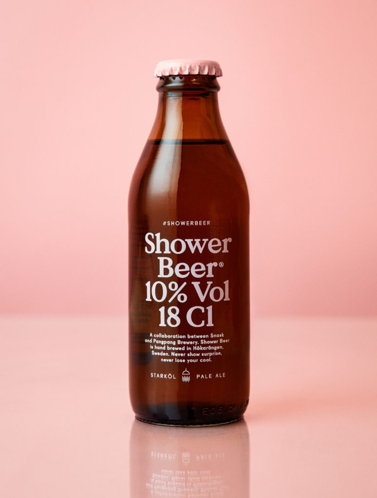 shower beer beerknews flying saucer 2