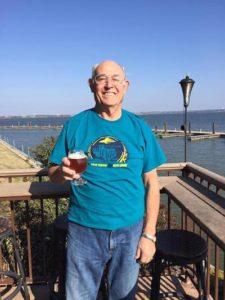 Gary Stringer lake flying saucer saucer brew crew