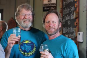 Addison Flying Saucer Brew Crew Mike Hagan Captain Keith
