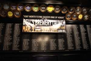 Bell's Brewery Texas Launch Fort Worth Flying Saucer 5