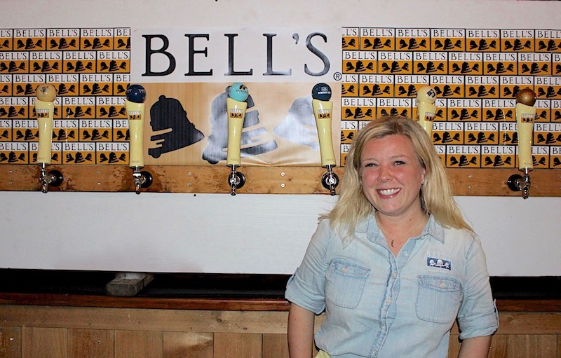 Laura Bell CEO Bell's Brewery Fort Worth Flying Saucer