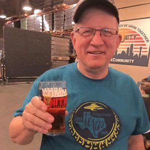 Larry Easley Community Beer Co. Flying Saucer Brew Crew