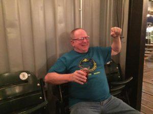 Larry Flying Saucer Brew Crew 2