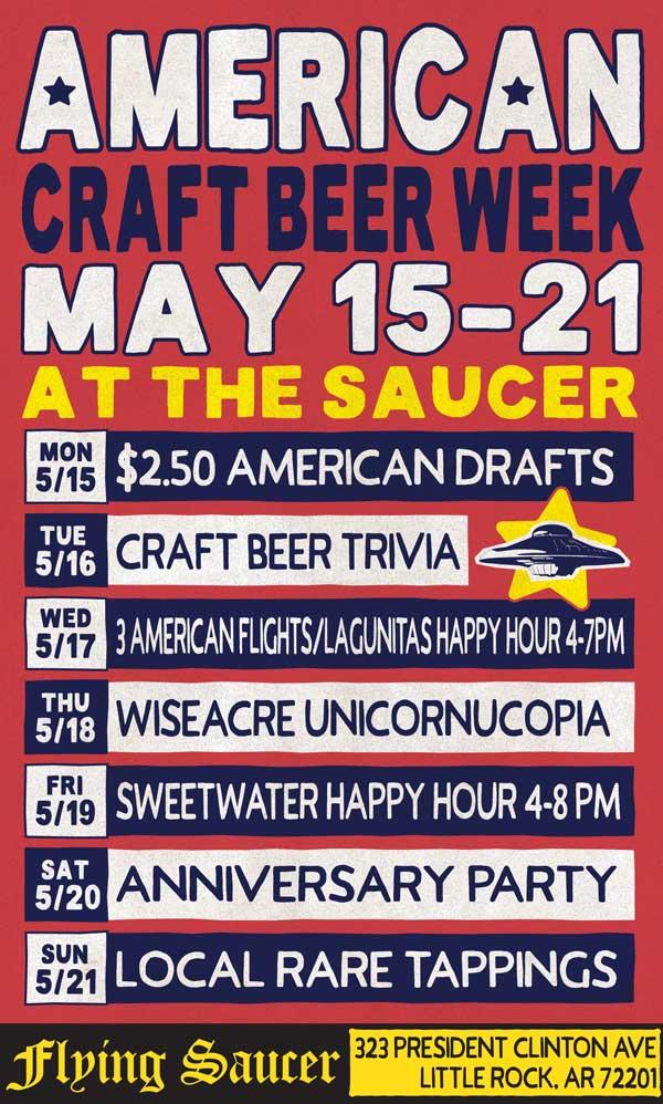 American Craft Beer Week Flying Saucer Houston