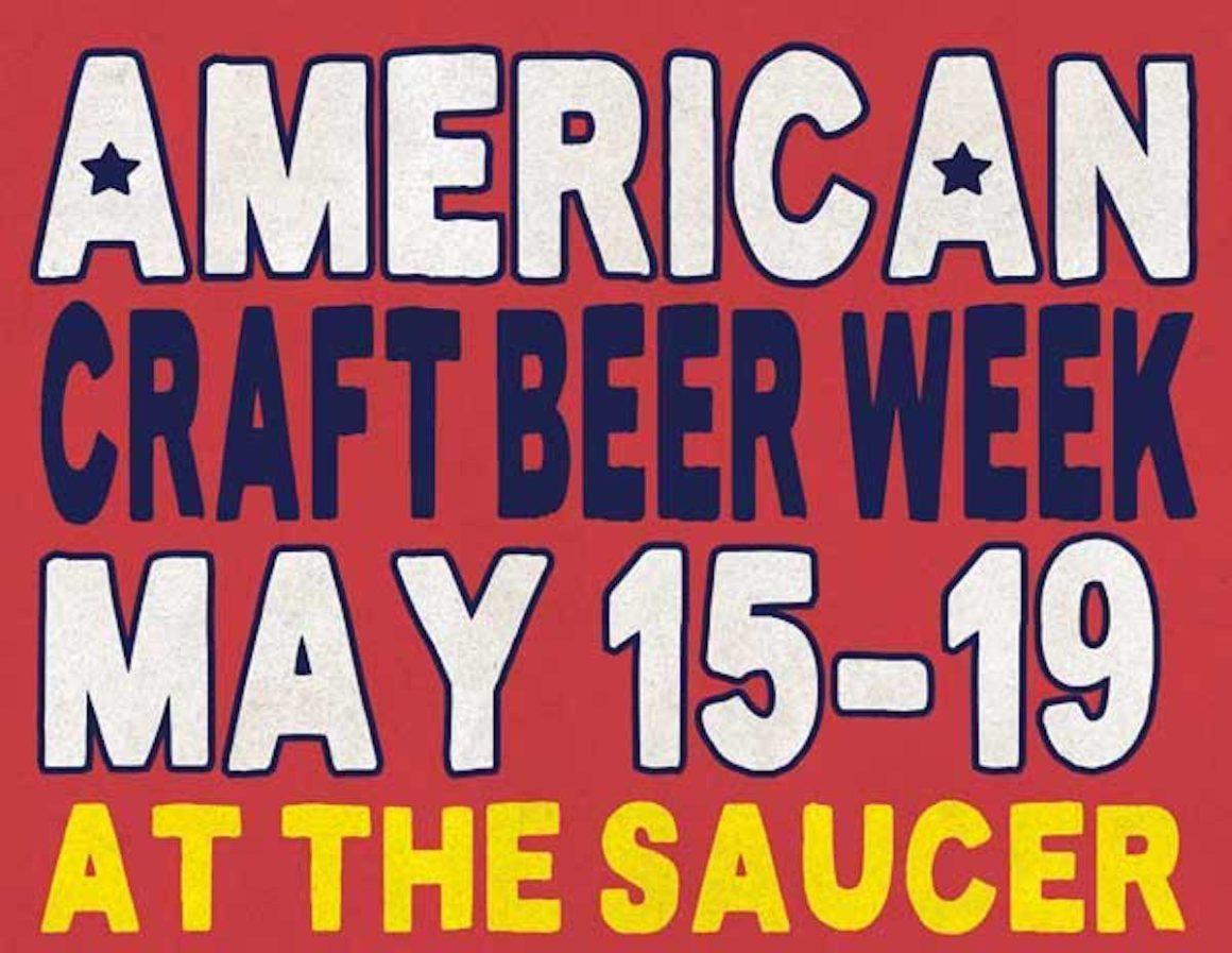 American Craft Beer Week Flying Saucer