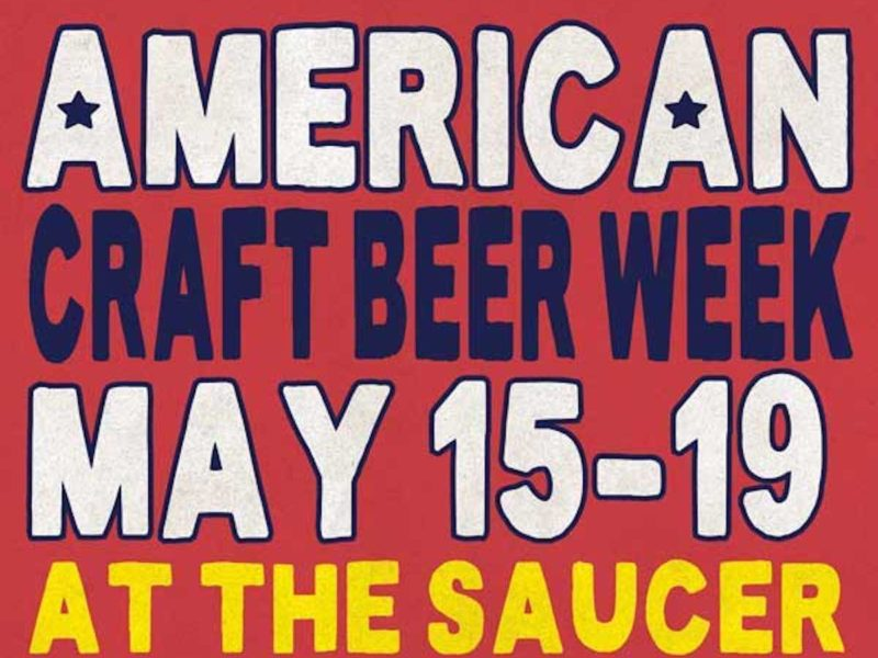 American Craft Beer Week Flying Saucer