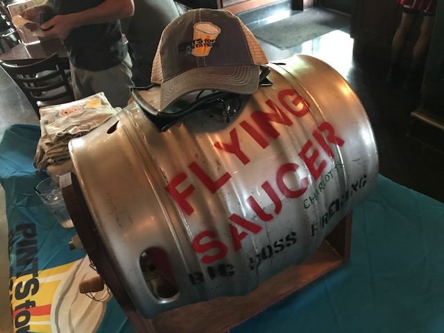 Flying Saucer Pints For Prostates Cask