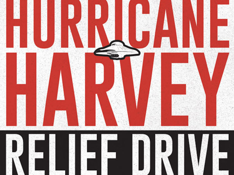 Flying Saucer Hurricane Harvey Relief Drive