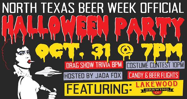 NTX Beer Week Halloween Party Addison Flying Saucer