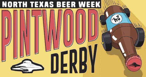 NTX Beer Week Pintwood Derby Fort Worth Flying Saucer