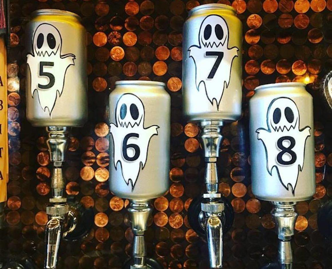 Flying Saucer Ghost Beer Gauntlet Beer Menu