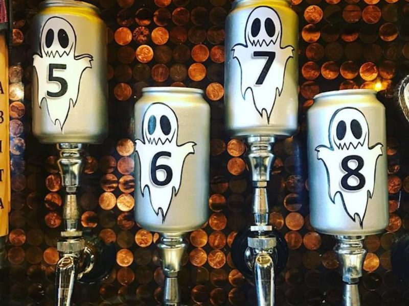 Flying Saucer Ghost Beer Gauntlet Beer Menu