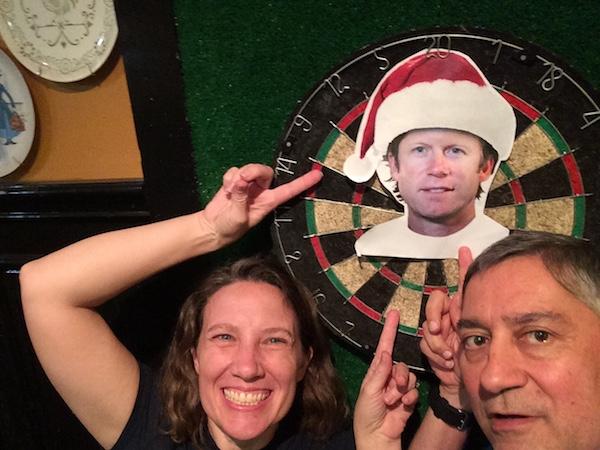 #captainkeithkringle flying saucer darts jorge